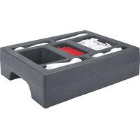 Cambro LCDCH10191 Granite Gray Condiment Holder for Cambro 1000LCD / UC1000