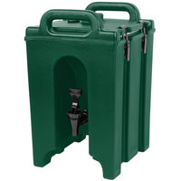 Cambro 100LCD519 Camtainers® 1.5 Gallon Kentucky Green Insulated Beverage Dispenser