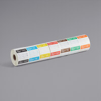 Noble Products 2 inch x 2 inch Removable Day of the Week Label Rolls