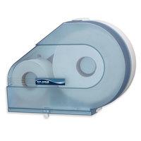 San Jamar R6500TBL Quantum 12 inch - 13 inch Jumbo Toilet Tissue Dispenser - Arctic Blue