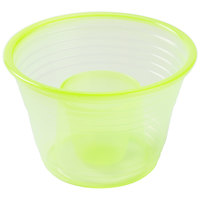 Fineline Quenchers 4112-Y Blaster Bomb Shot Cups / Power Bombs Yellow - 500/Case