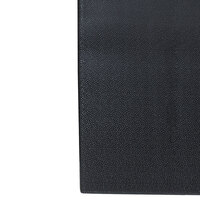 Tredlite Vinyl Pebbled Black Anti-Fatigue Mat 48 inch Wide - 3/8 inch Thick