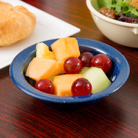 Carlisle 4353235 Dallas Ware 3.5 oz. Cafe Blue Fruit Bowl - 48/Case