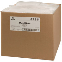 Chicopee 8785 Veraclean 12 inch x 13 inch White Medium-Duty Smooth Cleaning Wiper - 1000/Case