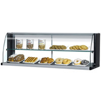 Turbo Air TOMD-75-HB 75 inch Top Dry Display Case - Black