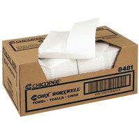 Chicopee 8481 Durawipe 13 inch x 15 inch White Heavy-Duty Wiper / Shop Towel - 100/Case