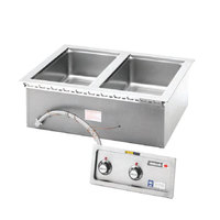 Wells MOD200T 2 Pan Drop-In Hot Food Well - Thermostatic Control