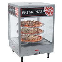 Nemco 6451-2 Self-Serve Rotating 3-Tiered Pizza Merchandiser 18 inch Racks 120V