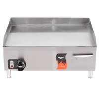 Vollrath 40716 Cayenne 24 inch Thermostatic Electric Griddle 220V