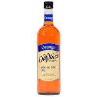 DaVinci Gourmet 750 mL Orange Sugar Free Coffee Flavoring / Fruit Syrup