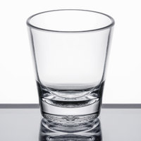 Carlisle 560107 Alibi 1.5 oz. SAN Plastic Shot Glass   - 24/Case