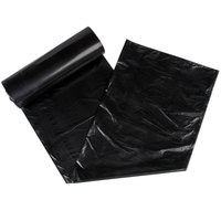 Berry AEP 404618B 45 Gallon .71 Mil 40 inch x 46 inch Low Density Can Liner / Trash Bag - 125/Case