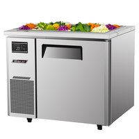 Turbo Air JBT-36 35 3/8 inch Refrigerated Buffet Display Table - 7.5 Cu. Ft.
