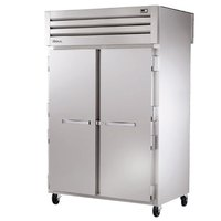 True STG2RPT-2S-2S Specification Series Two Section Pass-Through Refrigerator with Solid Doors - 56 Cu. Ft.