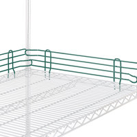 Metro L18N-4-DHG Super Erecta Hunter Green Stackable Ledge 18 inch x 4 inch
