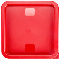Red Square Lid for 6 and 8 Qt. Food Storage Containers