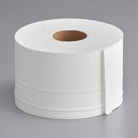 Sierra Hygiene Little Big Roll 2-Ply Toilet Tissue Roll with 5 inch Diameter - 24/Case