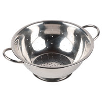 5 Qt. Stainless Steel Colander with Base and Handles