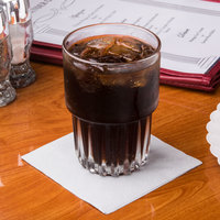 Hoffmaster 180318 Dove Gray Beverage / Cocktail Napkin - 250/Pack
