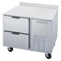 Beverage Air WTRD67A-2 67 inch Compact Worktop Refrigerator - 1 Door / 2 Drawers