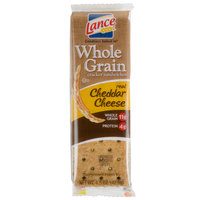 Lance Whole Grain Cheddar Sandwich Crackers 20 Count Box - 6/Case