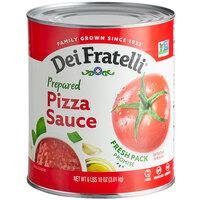 Dei Fratelli #10 Can Prepared Pizza Sauce - 6/Case