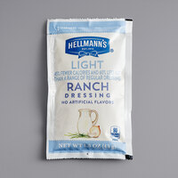 Hellmann's 1.5 oz. Light Ranch Dressing Packet - 102/Case