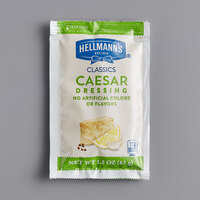 Hellmann's 1.5 oz. Creamy Caesar Dressing Packet - 102/Case