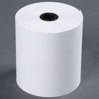 3 inch x 165' Traditional Cash Register POS Paper Roll Tape - 50 / Case
