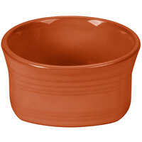 Homer Laughlin 922334 Fiesta Paprika 20 oz. Square Bowl - 12 / Case