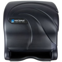 San Jamar T8090TBK Oceans Essence Hands Free Paper Towel Dispenser - Black Pearl