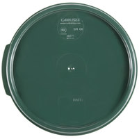 Carlisle 1077108 Green Lid for 2 & 4 Qt. Clear Round StorPlus Containers