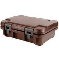 Cambro UPC140131 Camcarrier Ultra Pan Carrier® Dark Brown Top Loading 4 inch Deep Insulated Food Pan Carrier