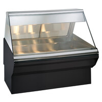 Alto-Shaam EC2SYS-48/P S/S Stainless Steel Heated Display Case with Base - Self Service 48 inch