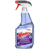 SC Johnson Windex® 322381 32 oz. Non-Ammoniated Multi-Surface Cleaner   - 8/Case
