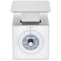 Edlund SR-5000C Premier Series 11 lb. / 5 kg Mechanical Portion Scale with 6 inch x 6 3/4 inch Platform