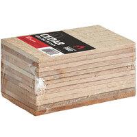 Backyard Pro 3 1/2 inch x 6 1/2 inch Cedar Wood Grilling Planks - 12/Pack