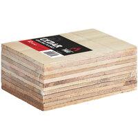 Backyard Pro 5 1/2 inch x 8 inch Cedar Wood Grilling Planks  - 12/Pack