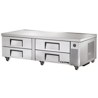 True TRCB-72 72 inch Four Drawer Refrigerated Chef Base