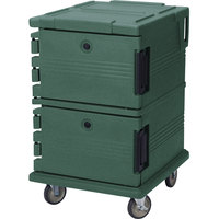 Cambro UPC1200192 Granite Green Camcart Ultra Pan Carrier - Front Load
