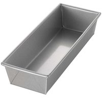 Chicago Metallic 40495 1 1/2 lb. Single Open Top Glazed Bread Pan - 12 1/4 inch x 4 1/2 inch x 2 3/4 inch