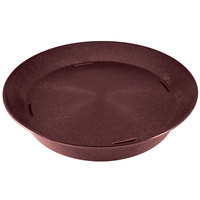 HS Inc. HS1059 14 inch Raspberry Polypropylene Round Deli Server - 24/Case