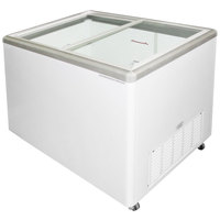 Excellence EURO-13 Ice Cream Flat Top Flat Lid Display Freezer - 12.5 cu. ft.