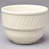 Homer Laughlin HL3837000 Gothic 7 oz. Ivory (American White) China Bouillon Cup - 36/Case