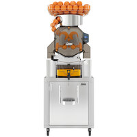 Zumex 08842 Speed S+ Self Service All-in-One High Capacity Automatic Feed Juicer with Tank Podium - 40 Fruits / Minute