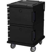 Cambro UPC1200110 Black Camcart Ultra Pan Carrier - Front Load