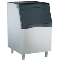Scotsman B530S Ice Storage Bin 536 lb. Stainless Steel Exterior