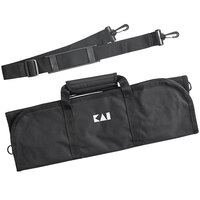 Kai KA0880 Black 8 Pocket Knife Roll