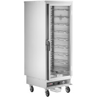ServIt CC1UFICF Full Size Insulated Holding and Proofing Cabinet with Clear Door - 120V, 2000W