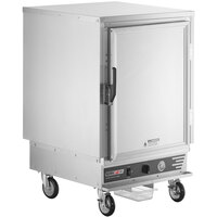 ServIt CC2UFISF Half Size Insulated Holding and Proofing Cabinet with Solid Door - 120V, 2000W